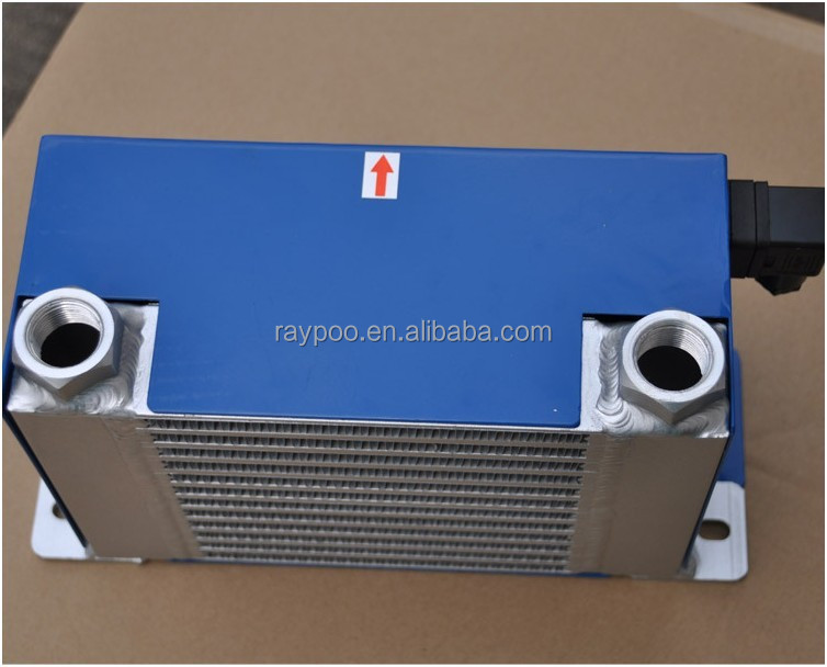 cnc machinery industrial hydraulic fan oil cooler