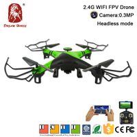 Most Popular 2.4G RC Wifi Fpv Camera Drone Made In China
