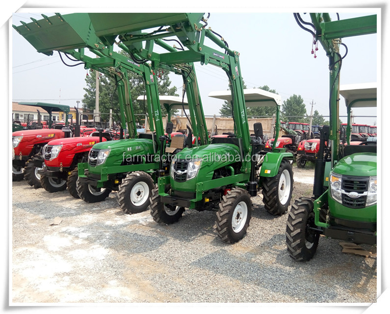 Besting used mini tractors and farm tractors with front loader TZ-4