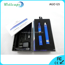 Cheap price various color 650mAh LCD battery dry herb e cig ago vaporizer