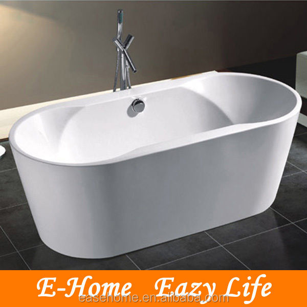 free standing oval bathtub/Luxury Double Ended Freestanding Bath Tub