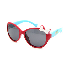 Wholesale Cheap High Quality Colorful cute Kids Baby Children soft Plastic UV400 polarized Sunglasses