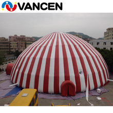 Guangzhou 5 years use life 26m diameter Double-stitched reinforced seams fireproof circus tents for sale used