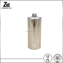 Cone top empty tin can with customized printing for 1L cleaning agent