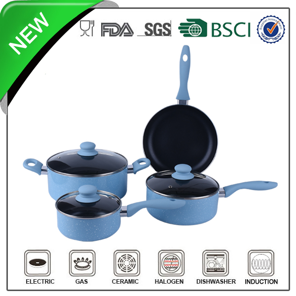 nonstick coated home use magic cookware