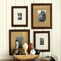 Modern Style Wall Hanging Mounted Multi Wood Picture Photo Frames