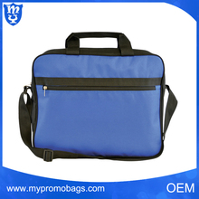 Classic style 600d polyester conference bag zipper document bag