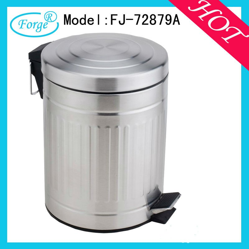 commercial stainless steel waste bin for home use