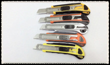 Safety High Quality 3 Blad self loadAuto Retractable Utility Knife