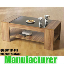 Modern melamine wooden coffee table for sale