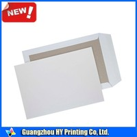 C4 A4 Standard Size Coloured Hard Board Backed Envelopes