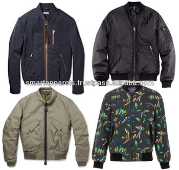 different styles custom bomber jackets