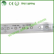 Outdoor decoration rgb dc24v color changeable led bar lighting price aluminium profile led strip