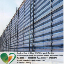 Windbreak And Sand-Fixation Corrugated Perforated Metals ,Perforated metal for auto filters !(factory)
