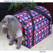 Quality primacy stylish design warming houses dog carrier dog house christmas
