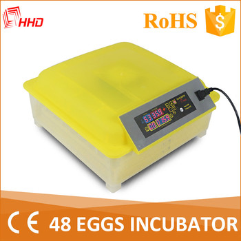 hhd good quality 48 egg incubator machine price poultry hatchery machine YZ8-48
