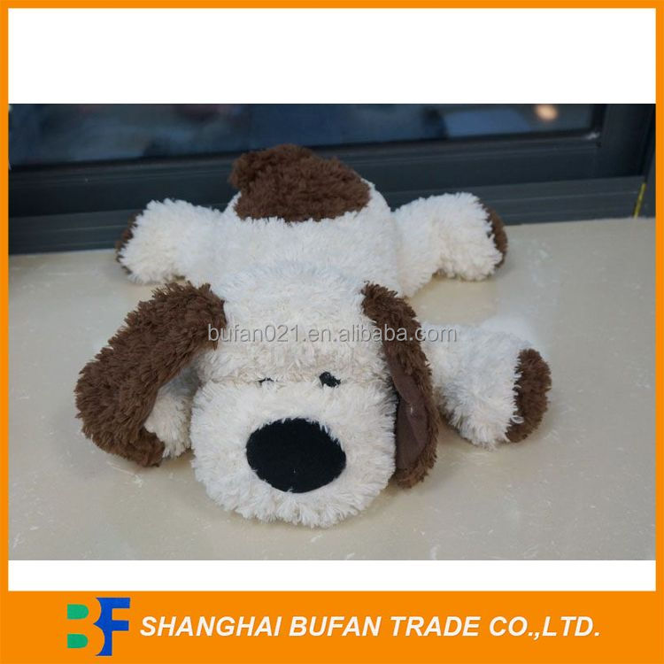 Factory direct nice looking plush dog toy for valentine gifts
