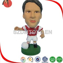 sculptures mini animated plastic football players