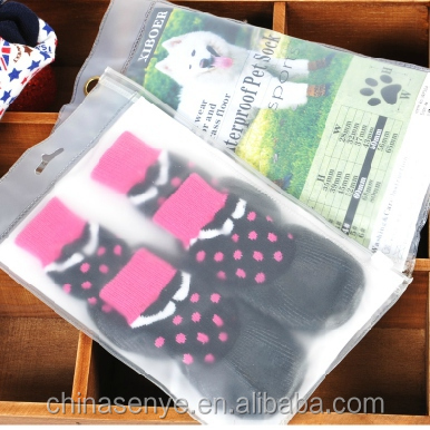 Outdoor dog pet socks warm socks non slip pet dog supplies wholesale dog clothes