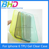 2015 Hot New Product UltraThin Case Soft TPU Back Cover For Apple iPhone 6 Plus 5.5 Luxury TPU Case For iPhone6 Plus Bag