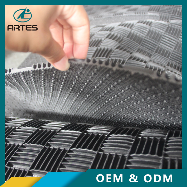 Anti slip OEM ODM fit alle auto type aangepaste tailored opblaasbare pvc vloermatten roll