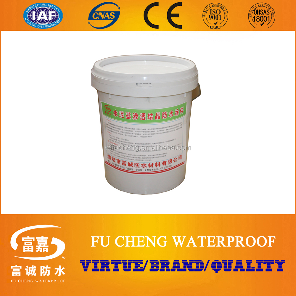 Manufacturer: Cementitious Capillary Crystalline Waterproof Coating