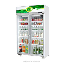 Commercial Used Vegetable Soft Drink Display Refrigerator Factory