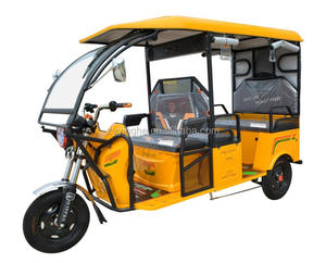 2017 New Design Passenger Tricycle E Rickshaw in Low Price India market