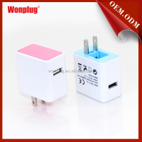 America/Japan mobile plug usb travel charger mp3 mp4