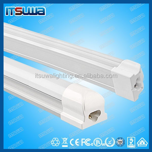 T8 LED Tube Light Integrated Fixture 4 Foot 18W 120V AC