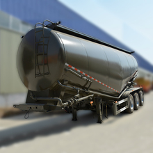Heavy duty dry bulk cement powder truck trailer for sale