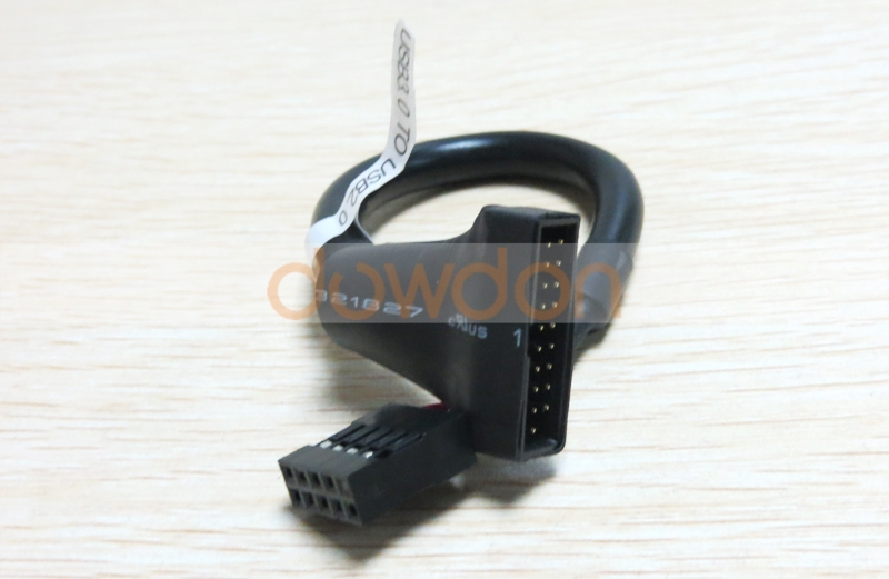 USB 3.0 20Pin Male Cable Adapter to USB 2.0 9Pin Housing Female to Motherboard Connector