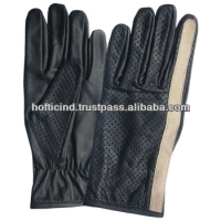young man dress gloves
