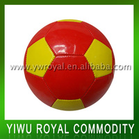 Wholesale PVC Leather Football Size 5 Colorful Soccer Ball