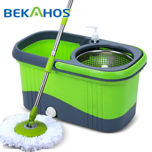 Easy Magic Floor Mop 360 easy magic floor cleaning with twister mop Bucket and Microfiber Rotating Head