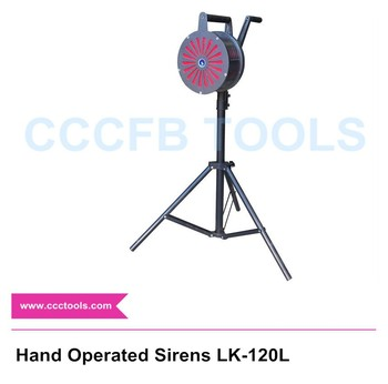 Hand Operated Sirens LK-120L type Hand Grand Fire alarms