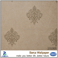 Barca 1310 series 2014 Hot sale cheap classic project wallpaper in small Damask flower
