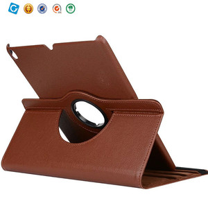 360 Degree Rotating Stand Smart Case Leather Cover for ipad pro 10.5
