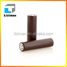 100% original rechargeable battery for LG HG2 20AMP 3000MAH 18650 batteries maximus mod PK lg hg6 3000mah lithium battery