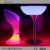 Good Price Light up Cocktail Table RGB 16 Colors Illuminted High LED Bar Table