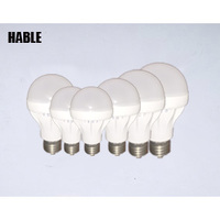 checpest 3W.5W.7W.9W.12W Wholsale milkly cover ce rohs led light bulb