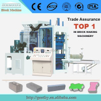 building construction material QT12-15 auto brick manufacturing plant/fly ash bricks making machine in india