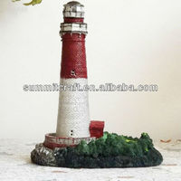 3d resin home decoration of model lighthouse