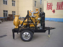 Two wheels mobile water pump