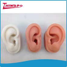 high imitation artificial 3D human silicone ear model for hearing aid