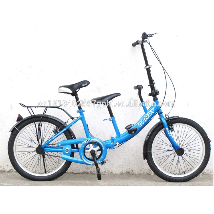 20 inch Folding Bicycle tandem bike mother and kids bike
