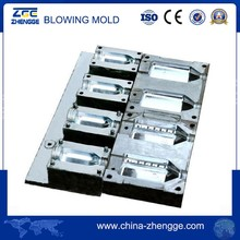 Taizhou Huangyan Mold Factory Bottle Blowing Mold With 4 Cavity