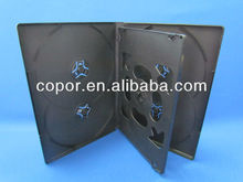 14mm Multi 6-DVD Case, plastic DVD case made of Polypropylene,with sleeve outside of the case
