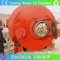 Freindly Environment Used Motorbike Tyre Pyrolysis