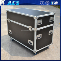 ACS aluminum case with wheels/Plasma Screen Flight Cases